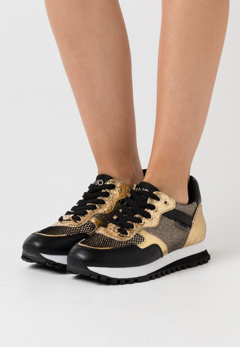 Liu Jo Jeans - Trainers - black/gold