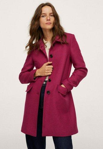MET ZAKKEN - Short coat - fuchsia