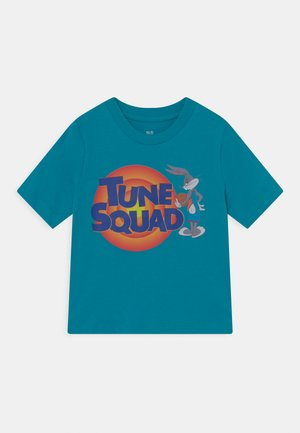 SPACE JAM TUNE SQUAD FRONT TEE UNISEX - Print T-shirt - teal