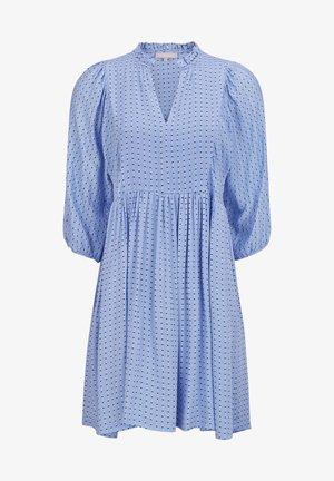 Day dress -  striped dots serenity
