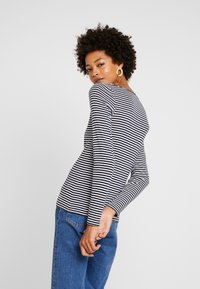 edc by Esprit - CORE FLOW - Long sleeved top - navy - 2