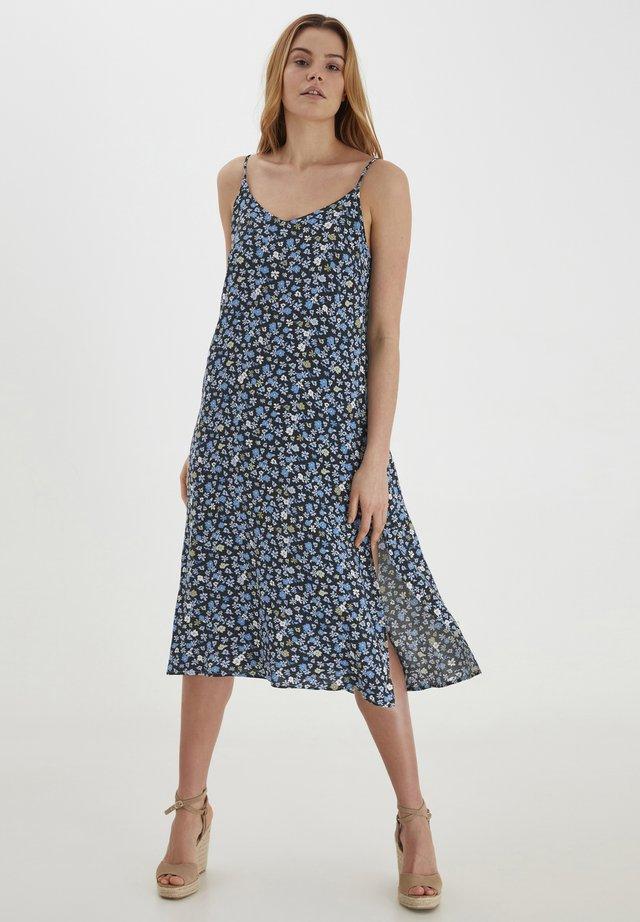 Korte jurk - blue /multi-coloured