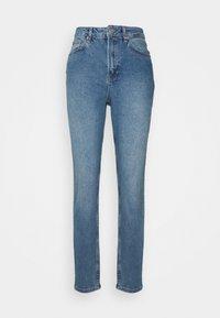 NA-KD Tall - MOM  - Jeans baggy - light blued - 4