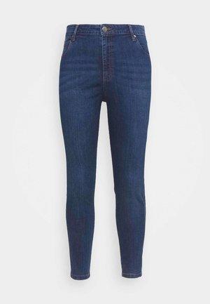 ADRIANA HIGH SKINNY  - Jeans Skinny Fit - deep blue