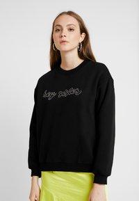 Monki - SPECIAL - Sweater - black - 0