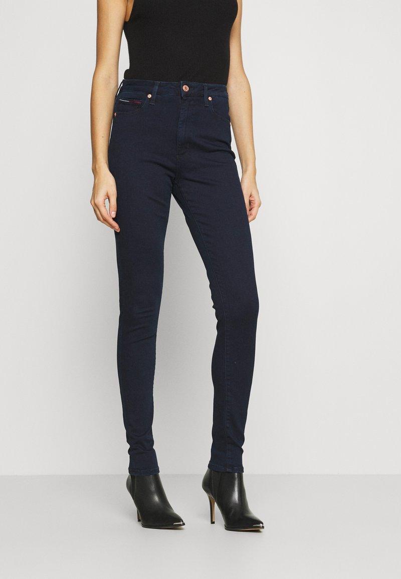 Tommy Jeans - SYLVIA SUPER - Skinny džíny - denim