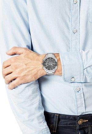 Chronograph watch - silver