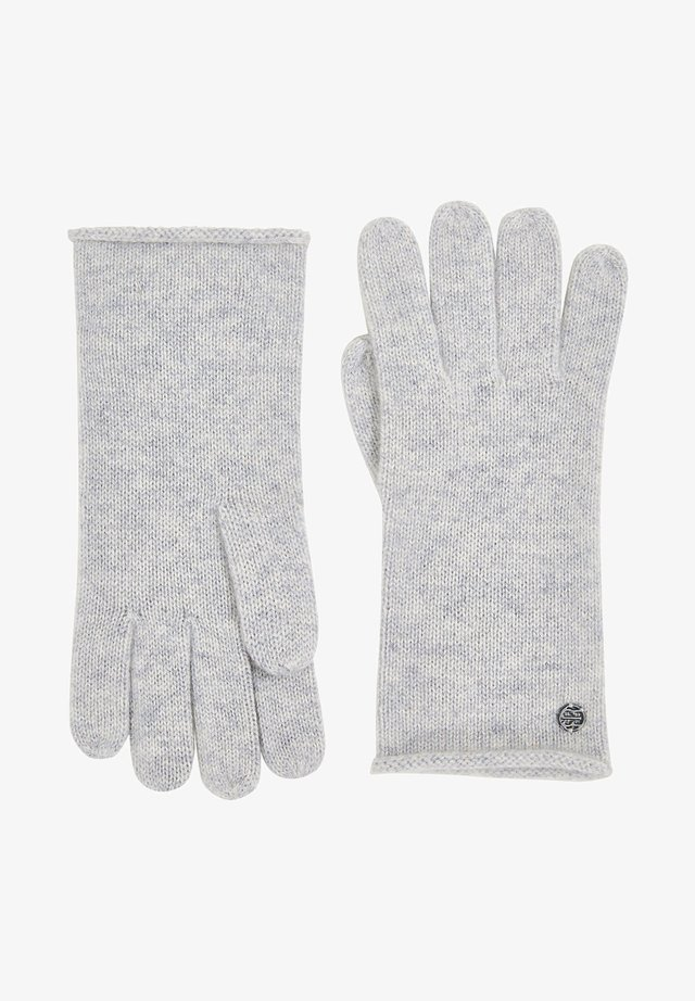 Gloves - pastel grey