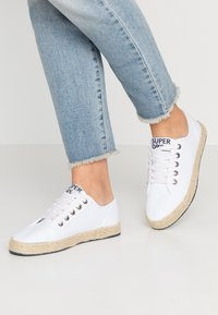 Superdry - LACE UP  - Espadrilles - white - 0