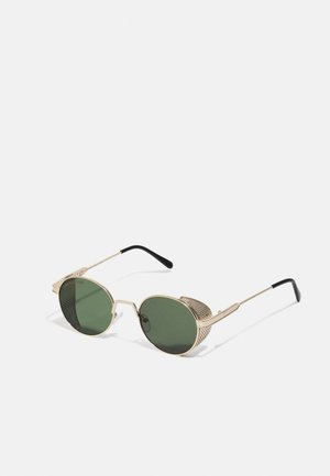 SUNGLASSES SICILIA UNISEX - Solglasögon - anticgold/brown