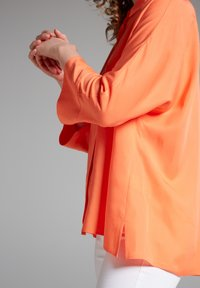 Eterna - Button-down blouse - coral - 2