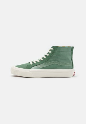 SK8 DECON UNISEX - Höga sneakers - hedge green