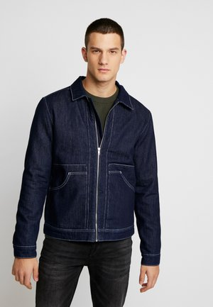 JJIALBERT JJJACKET  - Denim jacket - blue denim