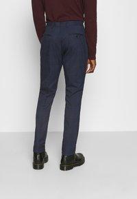 Selected Homme - MYLOLOGAN SUIT - Suit - navy blazer/brown - 5