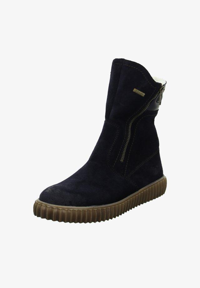LUNA - Winter boots - dunkel blau