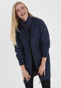 Fransa - FRLAENGLISH - Light jacket - dark peacoat - 0