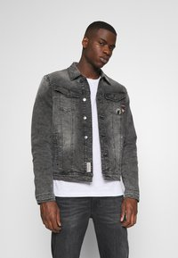 Tigha - LEEROY - Denim jacket - vintage black - 0