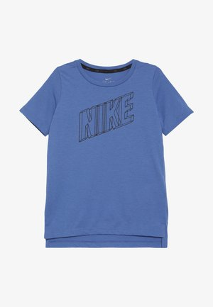 B NK BRTHE GFX SS - Print T-shirt - mountain blue/black