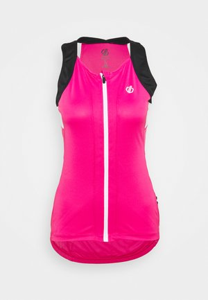 REGALE VEST - Topper - active pink/black