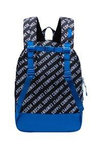 Herschel - School bag - roll call black/white/lapis blue - 1
