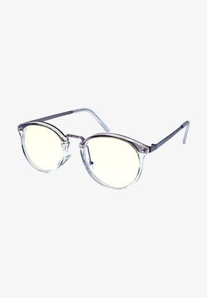 BERLIN  - Blue light glasses - matt transparent