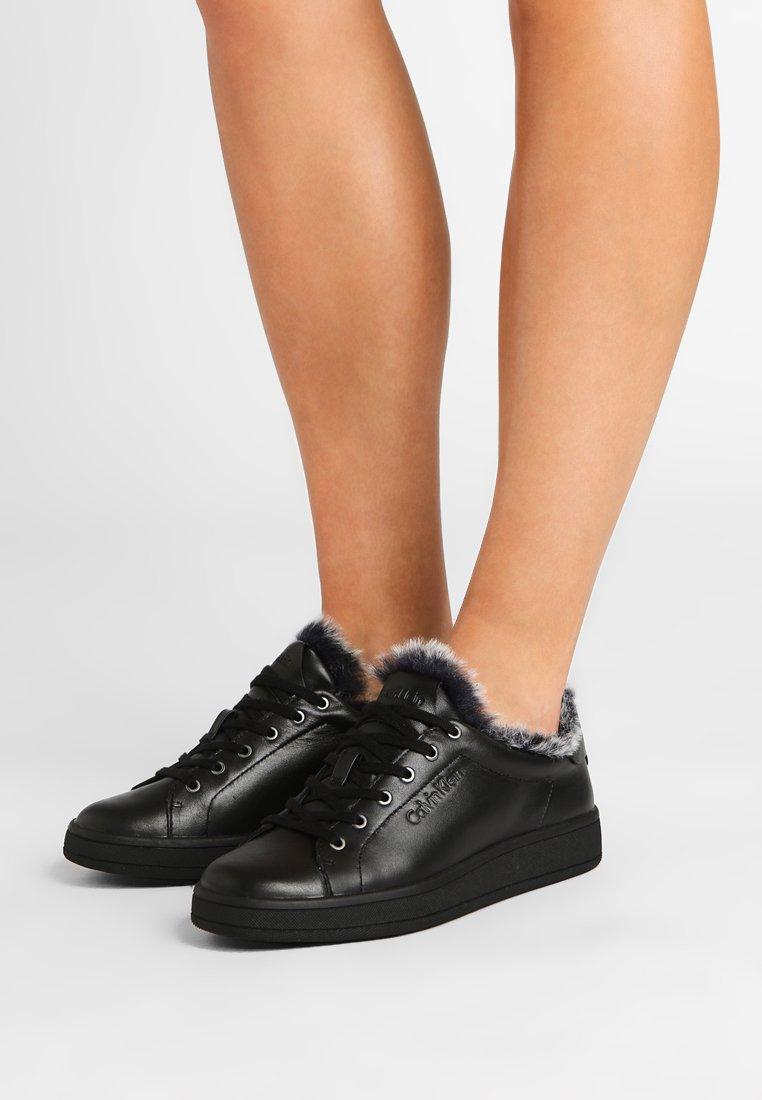 Calvin Klein - SOLEIL  - Sneakers laag - black
