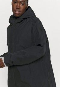 CMP - FIX HOOD - Płaszcz zimowy - nero - 3