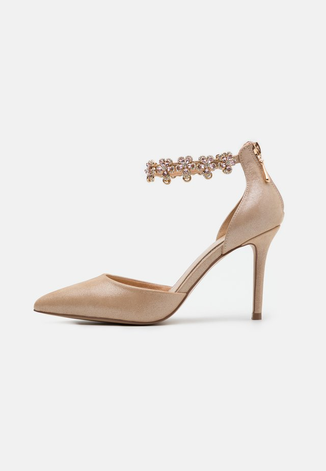 DELILAH - High heels - rose gold