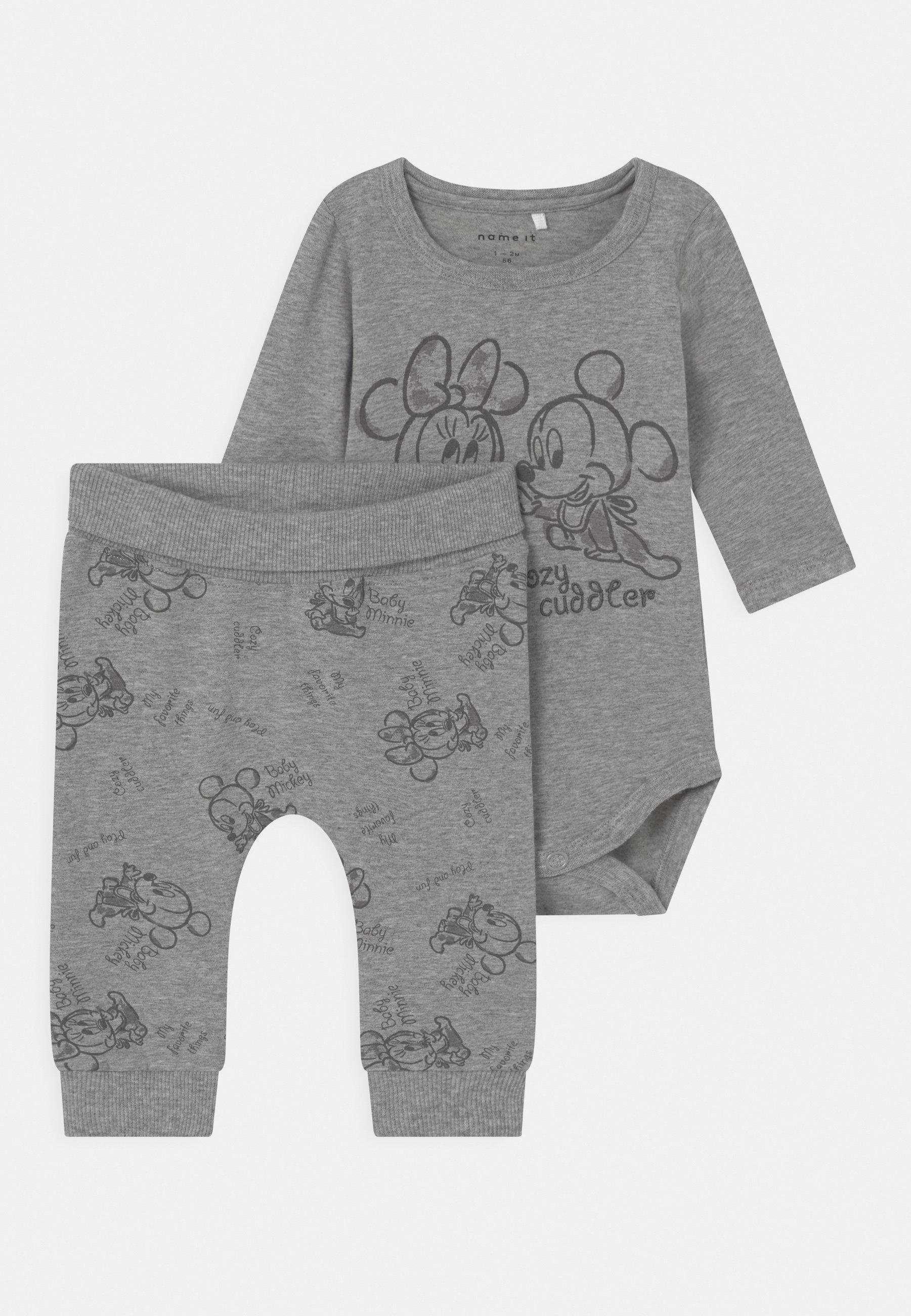 Kids NBNMICKEY SET UNISEX - Trousers