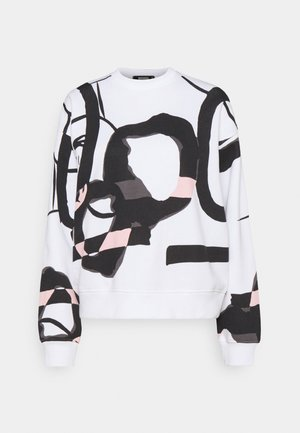 GRAFFITI PRINT - Sweatshirt - white