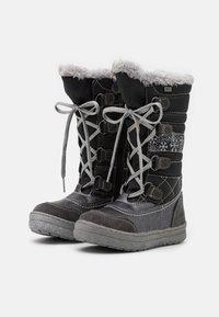 Lurchi - ALPY TEX - Zimní obuv - dark grey - 1