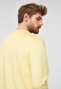 s.Oliver - Sweatshirt - light yellow - 5