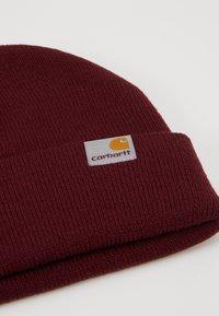 Carhartt WIP - STRATUS HAT LOW - Gorro - merlot - 2