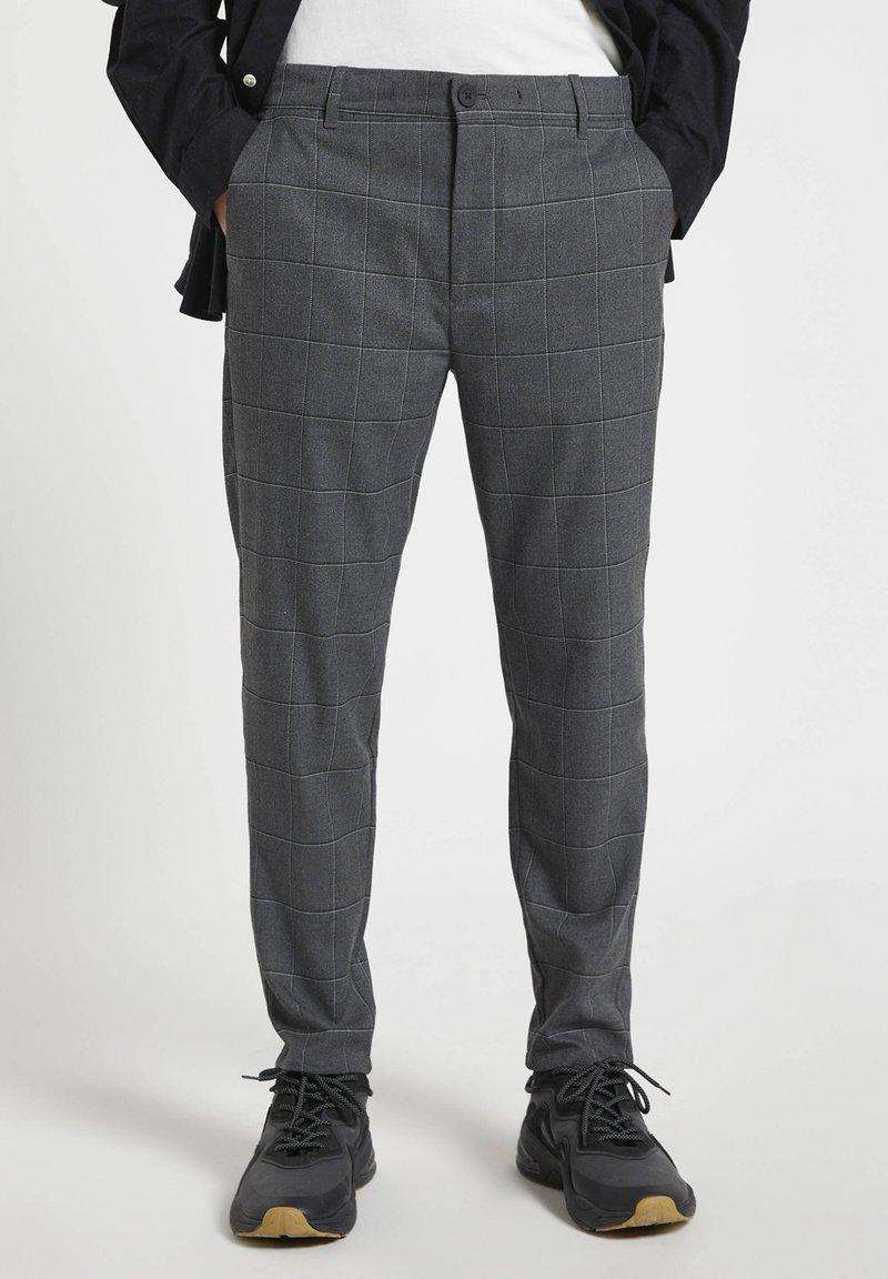 PULL&BEAR - Chinos - mottled grey
