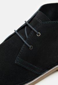 Jack & Jones - JFWBRAVO - Sznurowane obuwie sportowe - navy blazer - 5