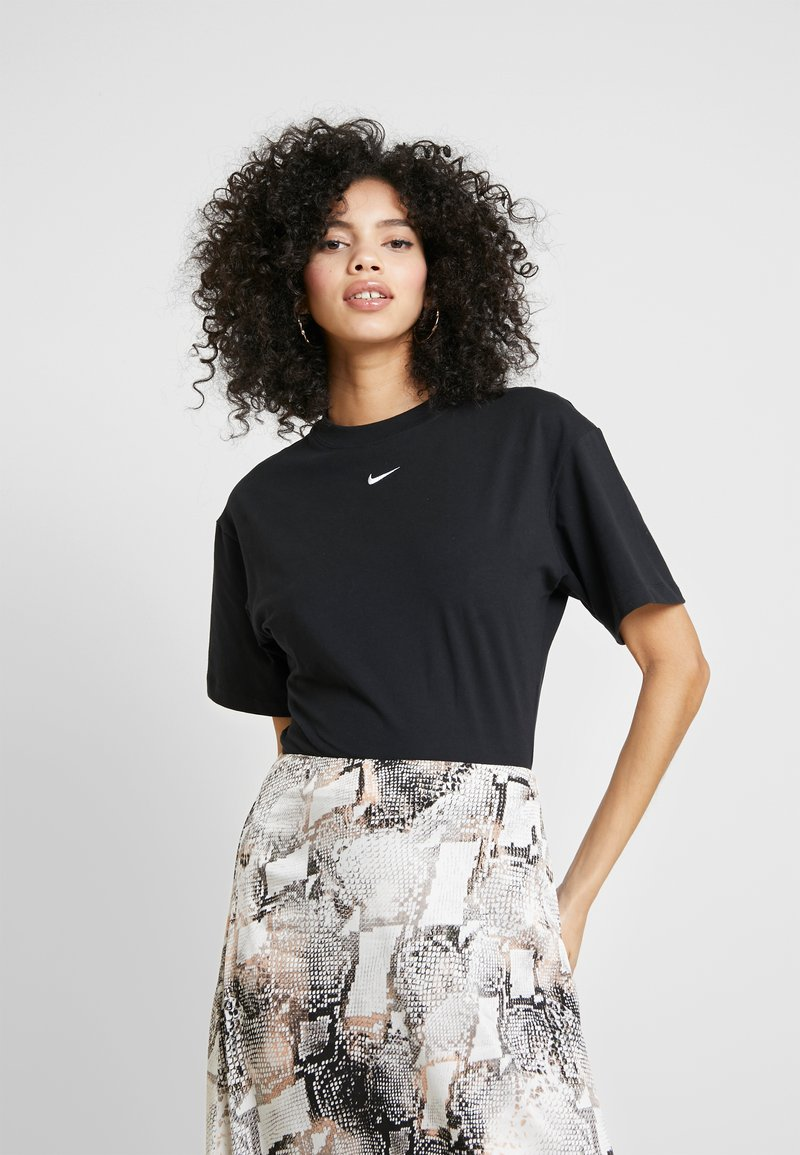 Nike Sportswear - T-paita - black/white