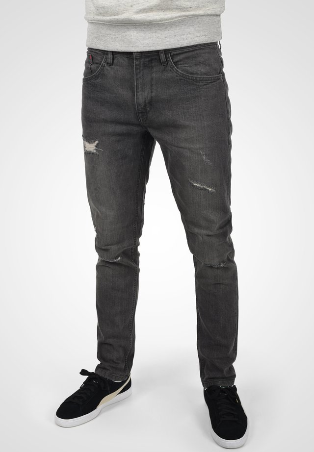 AVERELL - Slim fit jeans - denim dark grey