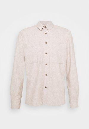 BRODY - Shirt - tannin melange