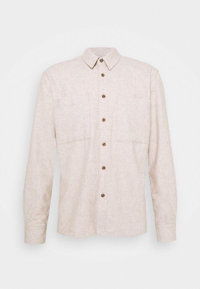 BRODY - Overhemd - tannin melange