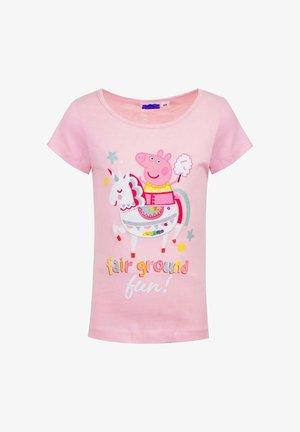 FAIR GROUND FUN  - Print T-shirt - rosa