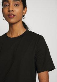 Gina Tricot - MANDY LONG TEE - Basic T-shirt - black - 5