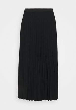 MAXI SKIRT - Áčková sukně - black dark