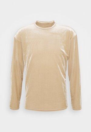 MOCK NECK LONGSLEEVE  - Sweatshirt - beige