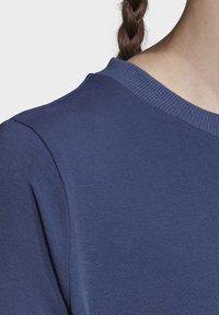 adidas Originals - TEE DRESS - Vestido de tubo - blue - 5