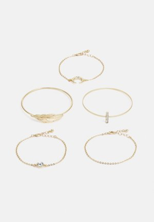 FGSTINE 5-PACK BRACELET  - Bracelet - gold colour/clear