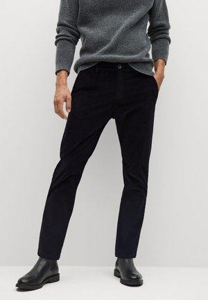 BERDAM - Trousers - noir