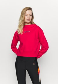 Champion - HIGH NECK ROCHESTER - Sudadera - red - 0
