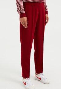 WE Fashion - Kangashousut - red - 0