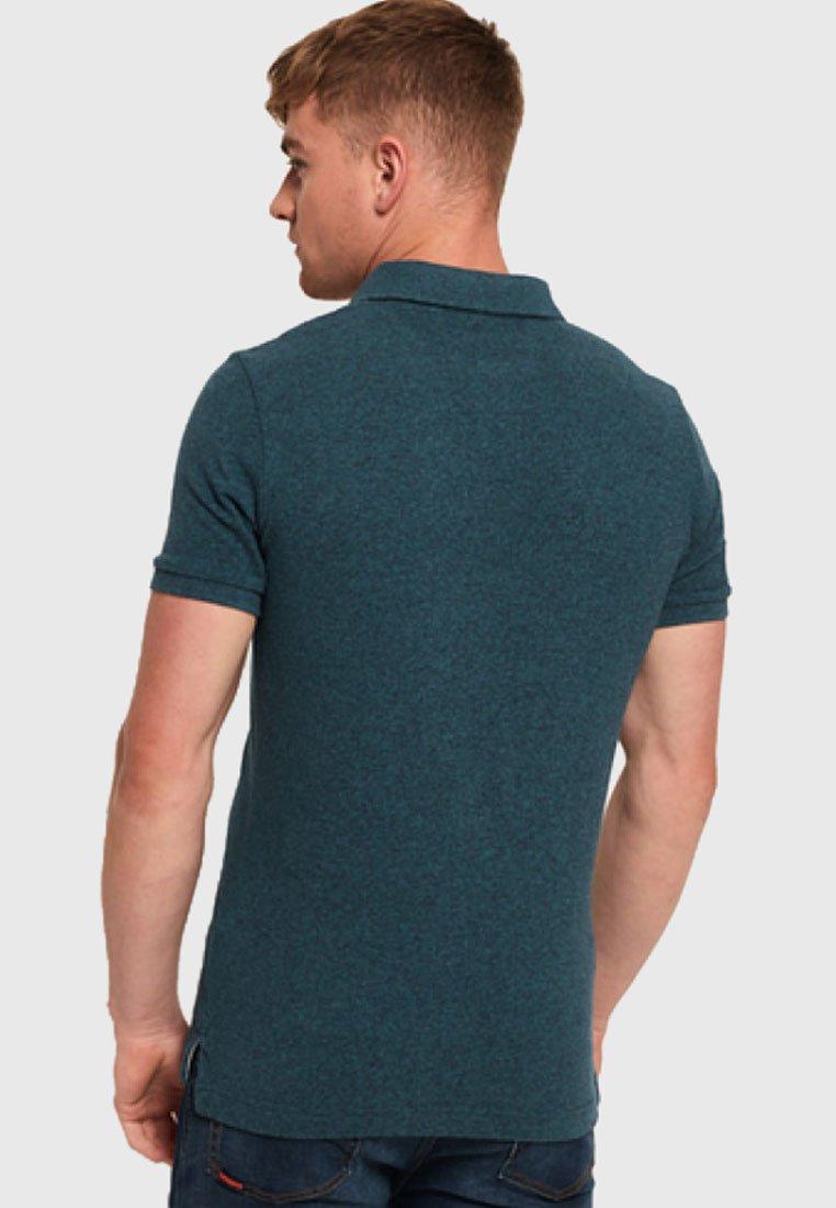 Kup najnowsze Gorąca wyprzedaż Superdry Koszulka polo - carbon blue | Odzież męska 2020 m8snH