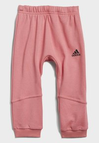 adidas Performance - BADGE OF SPORT ALLOVER PRINT JOGGER SET - Trainingspak - pink - 2